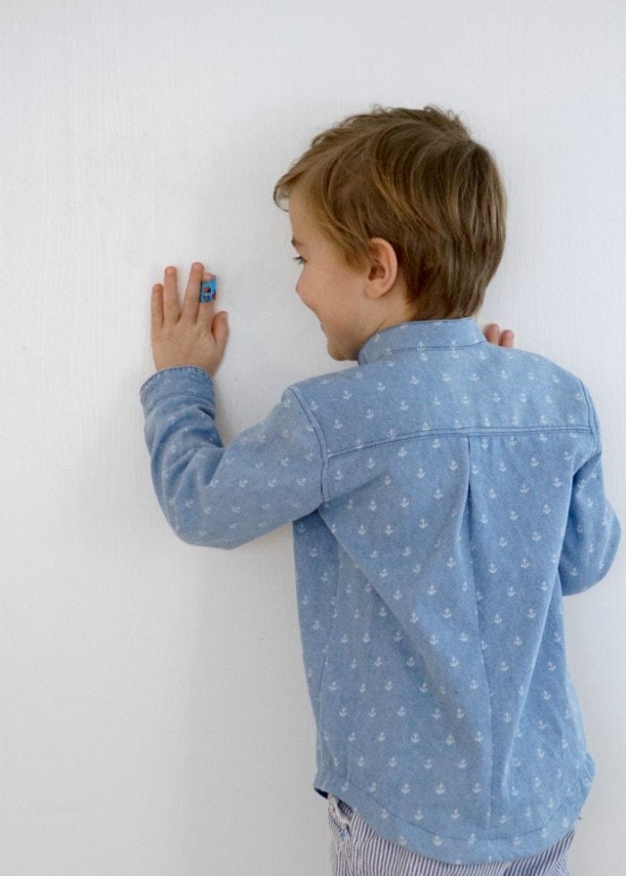 Prepster Pullover by Blank Slate Pattern sewn by Frölein Tilia