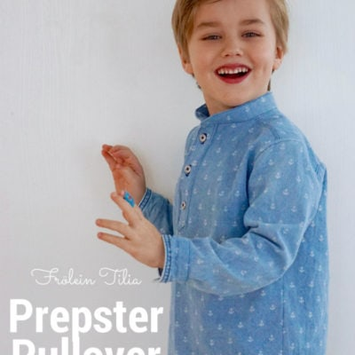 Prepster Pullover with Froelein Tilia