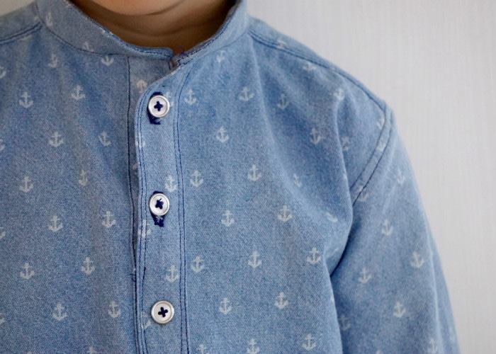 Prespster Pullover by Blank Slate Pattern sewn by Frölein Tilia