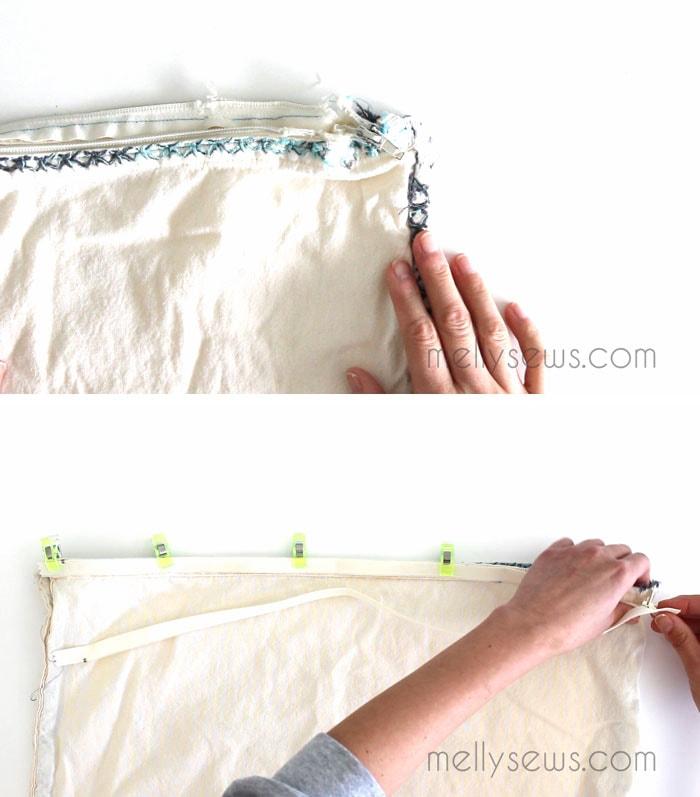 Step 1 - replace a Zipper