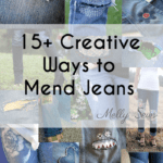 15+ Creative Ways to Mend Jeans