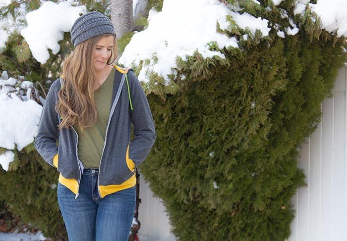 Zinnia Jacket by Blank Slate Patterns sewn by SewSophieLynn