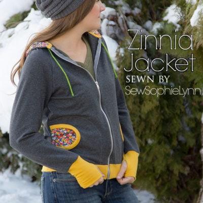 Zinnia Jacket with SewSophieLynn