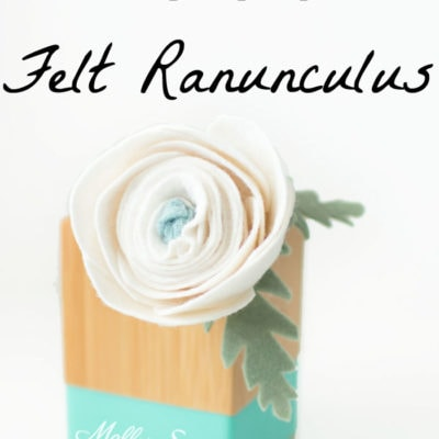 How to Make a Felt Ranunculus