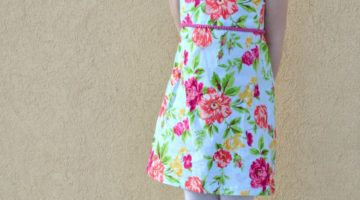 Fresh Bloom Frock with Paisley Roots