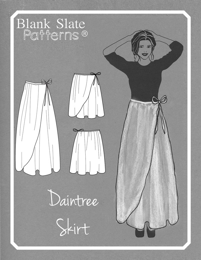 Daintree Skirt Pattern by Blank Slate Patterns