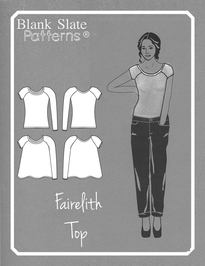 Fairelith Top Sewing Pattern by Blank Slate Patterns