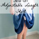 Adjustable Length Skirt – Sew Ruching