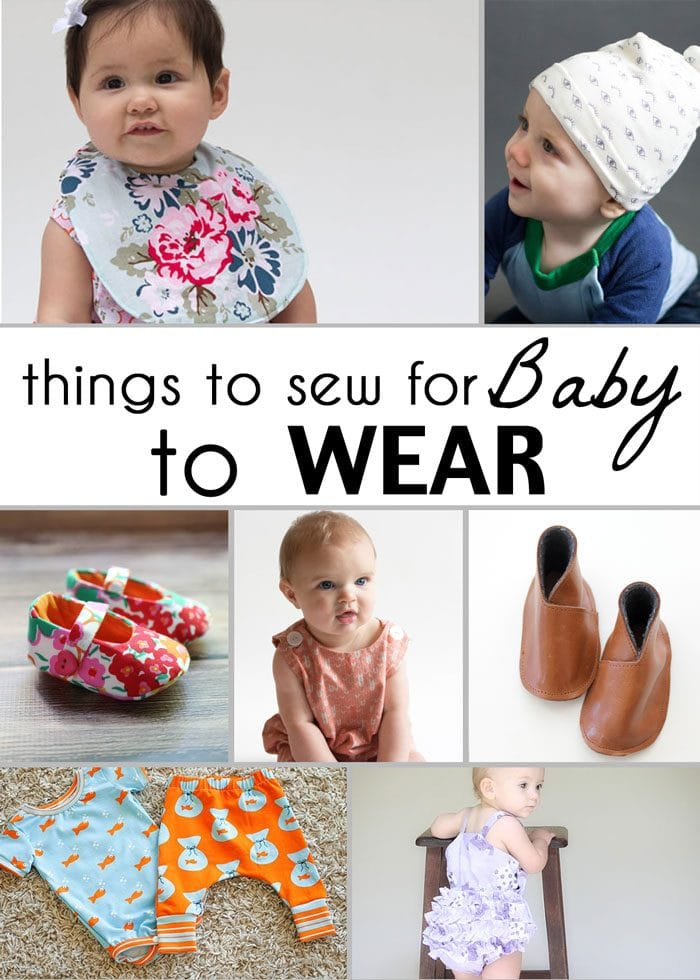 Things to sew for baby to wear - 21 Gifts to Sew for Baby - So many adorable ideas for things to sew for babies! - Melly Sews