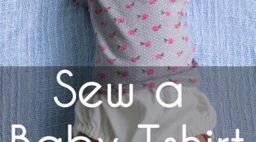 Sew a Baby Tshirt – With Free Pattern