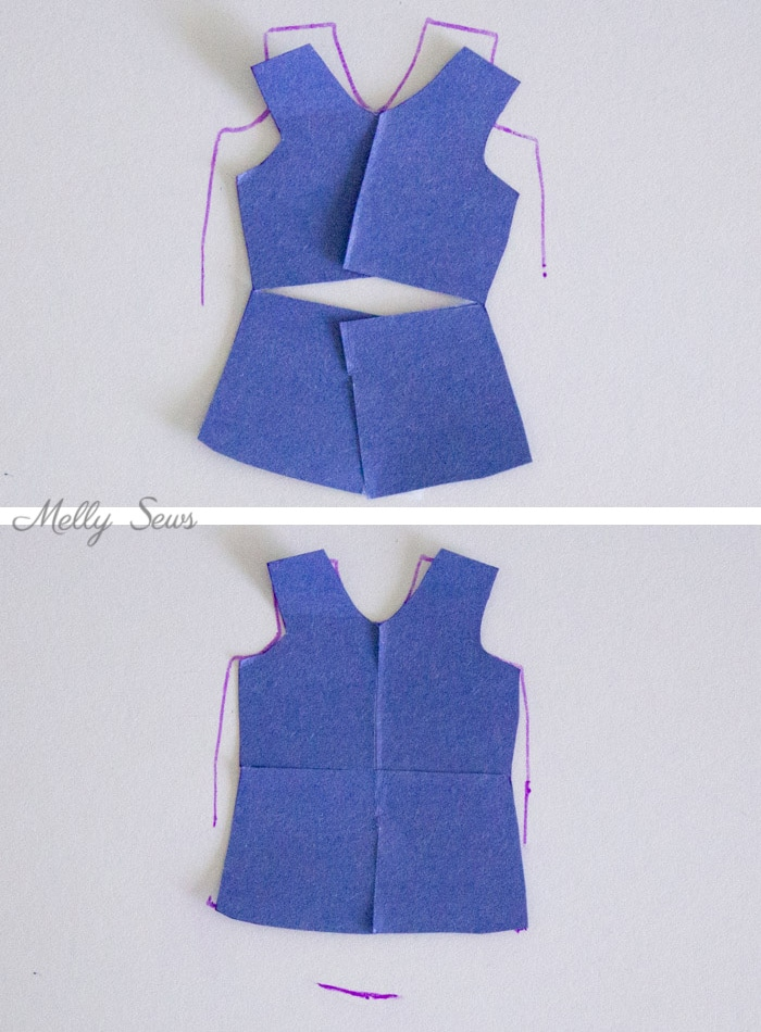 How to Modify Patterns for Maternity Use - Melly Sews