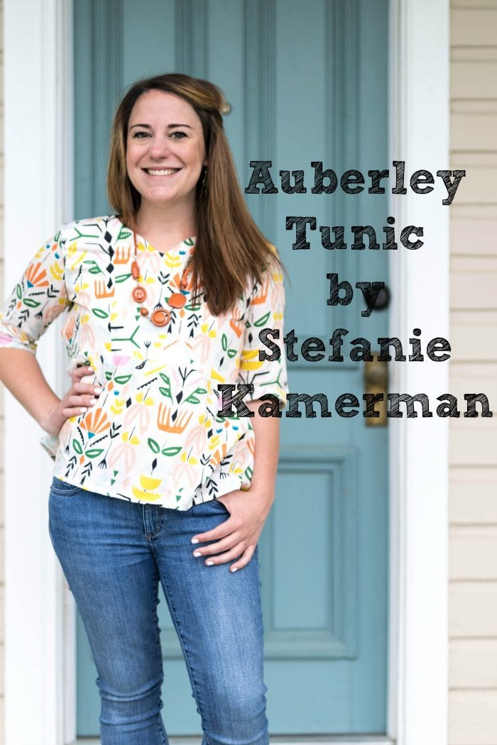 Auberley Tunic sewing pattern from Blank Slate Patterns sewn by Stefanie Kamerman