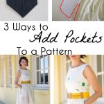How to Add Pockets to a Pattern