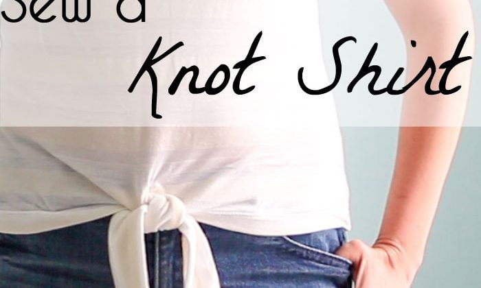 How to Sew a Knot Shirt