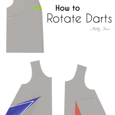 How to Rotate Darts in Sewing Patterns