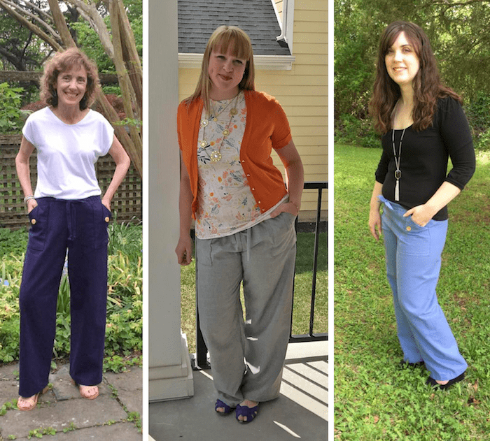Oceanside Pants & Shorts sewing pattern from Blank Slate Patterns | Now available in sizes XXS-3X