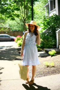 Tie neck sundress by Create/Enjoy