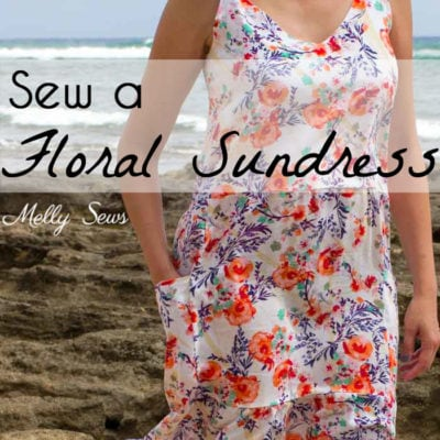 Floral Sundress with Free Pattern