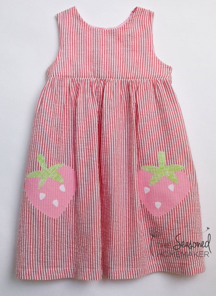 Strawberry Sundress by the Seasoned Homemaker
