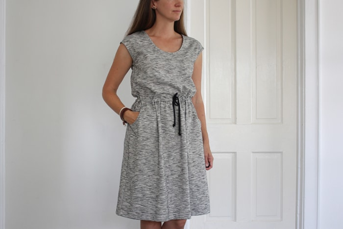 catalina dress sewing pattern by blank slate patterns sewn by sweetkm