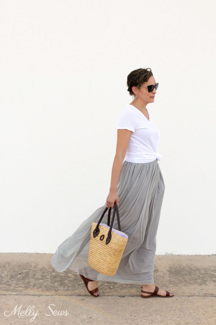Breezy casual skirt