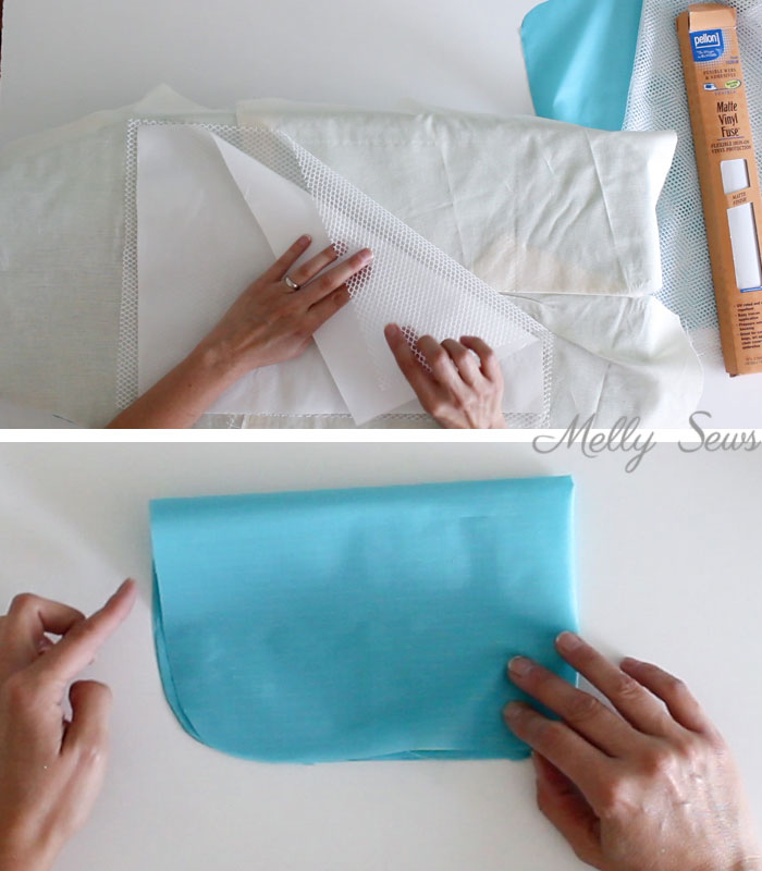 Step 1 - How to sew and use packing cubes - Melly Sews