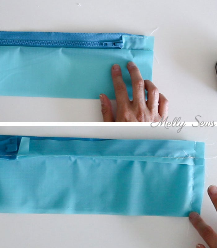 Step 3 - How to sew and use packing cubes - Melly Sews