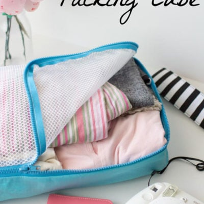 Sew and Use Packing Cubes