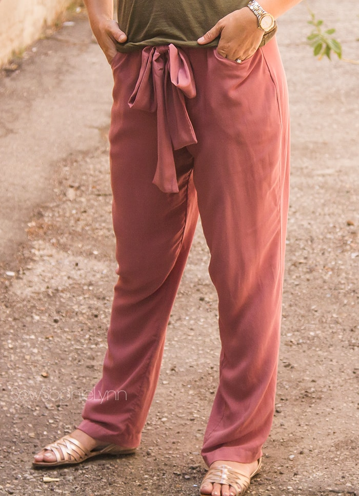 Forsythe Trousers by Blank Slate Patterns sewn by SewSophieLynn