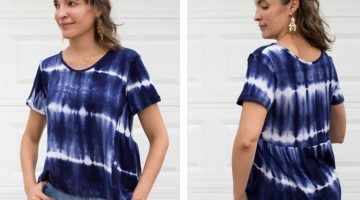 Sew a Swing T-shirt – Austin Tee Pattern Hack
