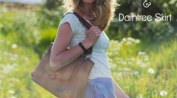 Daintree Skirt and Fairelith Top with Sew Mariefleur