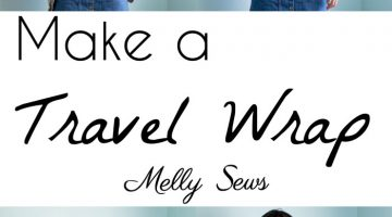 How to Sew a Travel Wrap