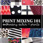 Mixing Prints like a Pro - Riva la Diva | Melly Sews