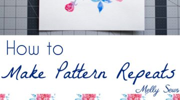 How to Make a Fabric Print – Print Repeat