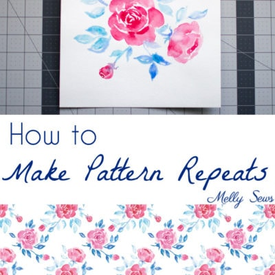 How to Make a Fabric Print – Print Repeat