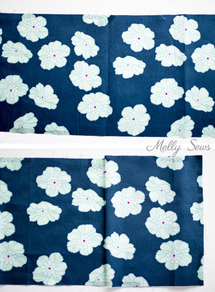 Floral Print Matching - How to Match Prints - How to match plaids for sewing - How to Match Stripes - Tutorial by Melly Sews