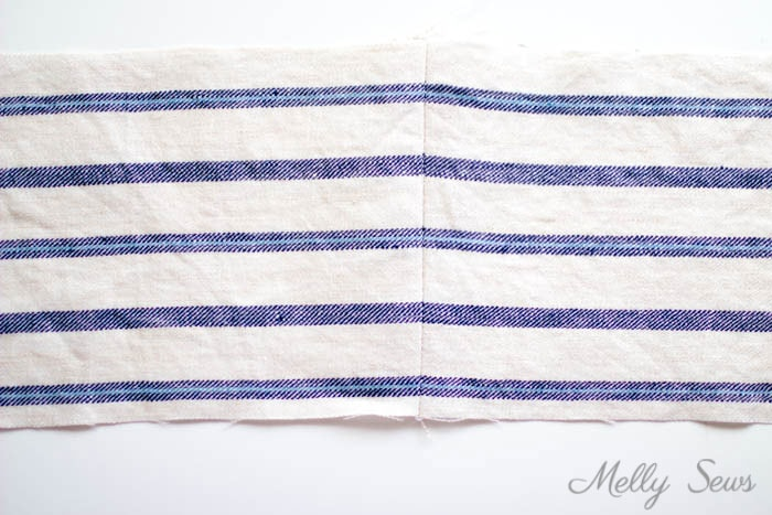 Stripe Matching - How to Match Prints - How to match plaids for sewing - How to Match Stripes - Tutorial by Melly Sews