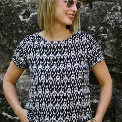 Shoreline Boatneck with Sweeter Than Cupcakes