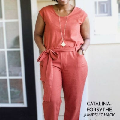 Catalina Dress and Forsythe Trousers with Brittany Jones