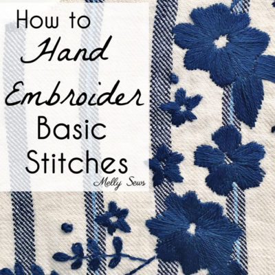 Basic Hand Embroidery Stitches