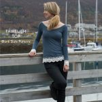Fairelith Raglan Top sewing pattern from Blank Slate Patterns sewn by Sew Mariefleur