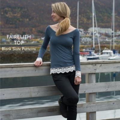 Fairelith Top with Sew Mariefleur