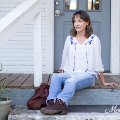 New Pattern – The Valetta Top – Peasant Top Sewing Pattern