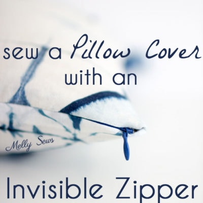 Invisible Zipper Pillow Covers