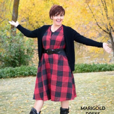 Marigold Dress with Be So Crafty