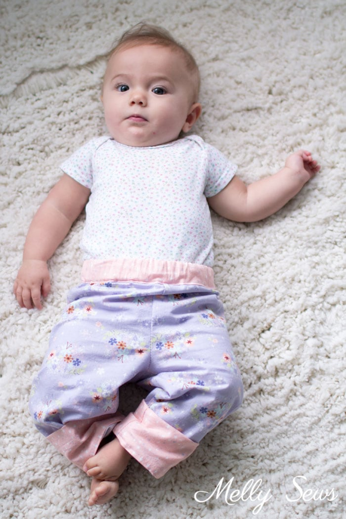 SO ADORABLE - Baby Pajamas - Snuggle Pajamas Sewing Pattern by Blank Slate Patterns for Babies, Boys and Girls