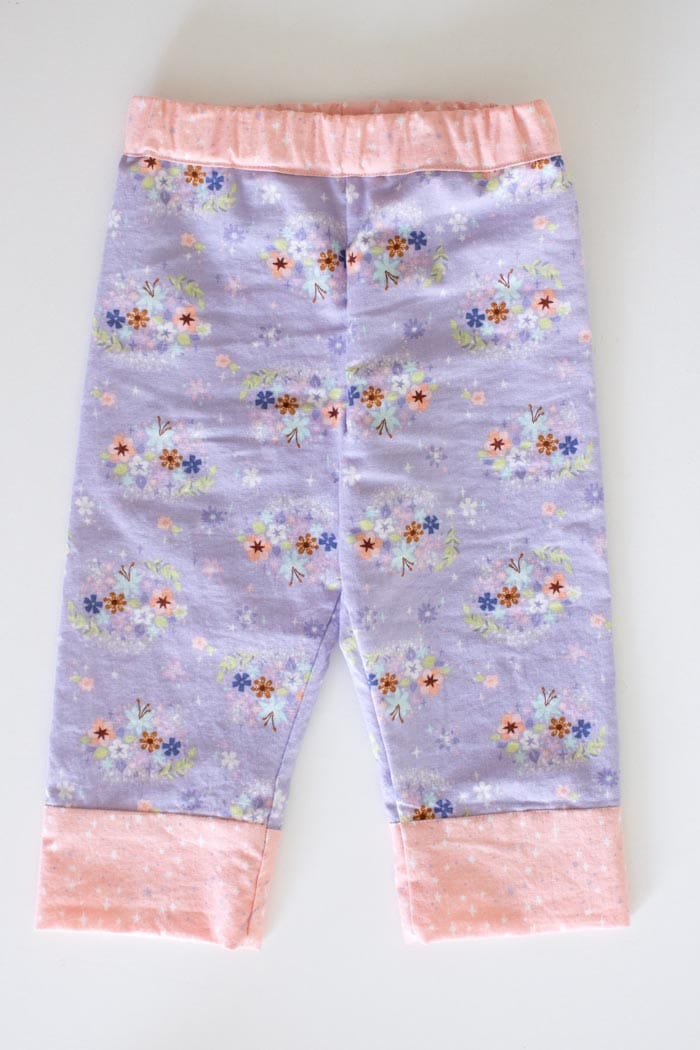 So cute! And these baby pajama pants look easy to sew! Snuggle Pajamas Sewing Pattern by Blank Slate Patterns for Babies, Boys and Girls