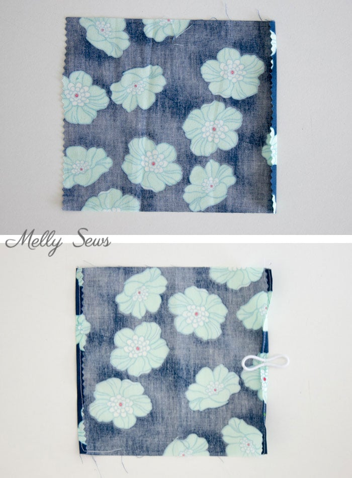 Step 1 - Make a Travel Size Tissue Holder - Great gift for teachers, neighbors, family and co-workers - Video and Tutorial by Melly Sews