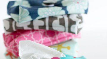 Sew a Travel Size Tissue Holder