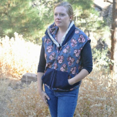 Zinnia Vest with Cabin7k